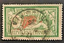"France - 1925 - Yvert 207 Scott 131 ""Liberty And Peace"" 10Fr. Green Red-used"