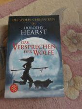Taschenbuch Buch Fantasy Roman Wolfs-Chroniken Versprechen der Wölfe Hearst