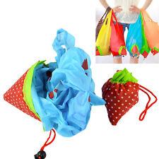 5x Faltbare Einkaufstasche Erdbeere Einkaufsbeutel Tragetasche Shopper  Werkzeug