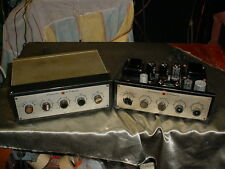 Pair of Grommes 56PG 56-PG Integrated Amplifiers 6V6 output & 12AX7 preamp tubes