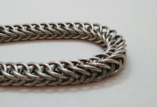 Handmade 16g Half Persian Chainmail Bracelet Stainless Steel Maille