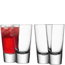 LSA bar verre mélangeur long-Clair-Set de 4