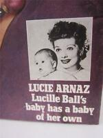 Lucille Ball's Baby Lucie Arnaz Has Baby McCall's Cover Magazine 1981 COA Video