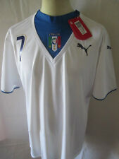 Italie 2006 away Del Piero 7 T-Shirt Football Taille L / 34556
