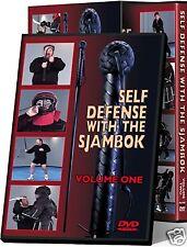 Cold Steel Self Defense With Sjambok Training DVD VDFSK