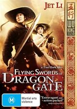 Flying Swords Of Dragon Gate (DVD, 2012) // subtitles // stickers on sleeve