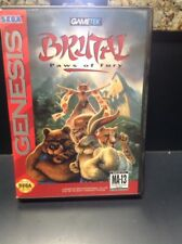 Brutal: Paws of Fury (Sega Genesis, 1994)