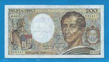 M.049     200 Francs MONTESQUIEU  de 1987