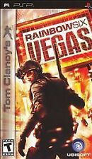 Tom Clancy's Rainbow Six 6 Vegas UMD PSP GAME SONY PLAYSTATION PORTABLE