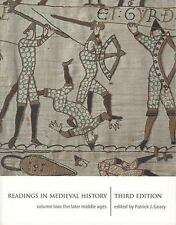 Readings in Medieval History 3e Volume II: The Later Middle Ages