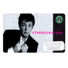 Beatles & Wings Collectors Memorabilia: 2007 Starbucks Paul McCartney Gift Card
