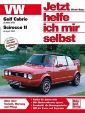 VW Golf Cabrio ab März '79 / Scirocco II ab April '81 von Dieter Korp (2002, Taschenbuch)