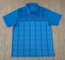 Adidas Golf ClimaCool Teal Polo Shirt ~ Men's Large L ~ SS
