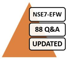 Fortinet NSE7 Enterprise Firewall - FortiOS 5.4 Test NSE7_EFW Exam 88 Q&A PDF