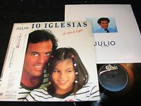 JULIO IGLESIAS De Nina A Mujer / Japan LP 1981 EPIC SONY 28-3P-344