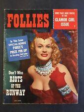 January 1956 Follies Pinup Girl Magazine
