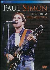 Paul Simon : Live from Philadelphia (DVD)