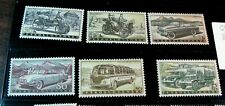 Czechoslovakia  Stamp Scott# 890-895 Cars and Trucks 1958 MH H5