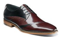 Stacy Adams Men's Shoes Talmadge Folded Vamp Oxford Burgundy Multi  25193-641