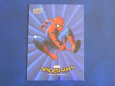 2017 UD Spider-Man Homecoming BLUE FOIL RB-11 Spiderman WALMART EXCLUSIVES