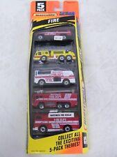 Vintage Matchbox Fire Rescue 5-Pack in Original Box