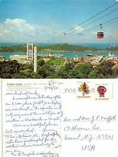 Asia Singapore Cable Cars linking Mt. Faber to Sentosa - 新加坡 缆车花柏山 (A-L 417)