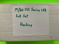 2019-20 UD Upper Deck Series 1 &2 Base Set cards 1-200 and 251-450 HOCKEY