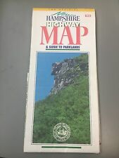 1991 New Hampshire Highway Map and Guide to Parklands
