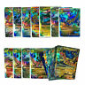 18Pcs Pokemon TCG 18 CARD MEGA Poke Cards EX Charizard Venusaur Blastoise Game