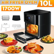 Electric Air Fryer Intelligent Oil-free Multi-function Fry Machine Oven1700W 10L