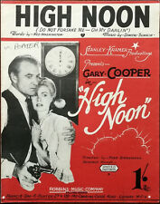 More details for high noon (do not forsake me oh my darling') from the film with gary cooper 1952