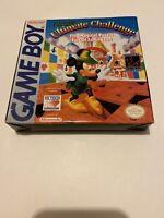 🤩 jeu nintendo game boy mickey's ultimate challenge us version rare complet cib