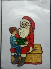 Window Color Fensterbilder Weihnachten Weihnachtsmann +kleiner Junge 2020