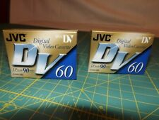 Jvc Digital Video Cassete - Set of 2 - Dvm60