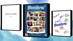 Benidorm Script/screenplay Movie Poster Autograph Signed Print