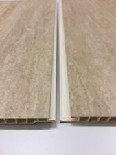10 x 10ft Large 50mm White PVC Plastic External Angles 3.05m Corner Protection