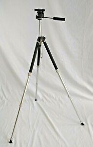 Pyramid P-300 Vintage Photography or Cine Movies Telescopic Tripod VGC