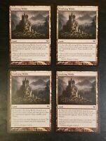 4x Evolving Wilds Dark Ascension Mtg Magic Gathering Sacrifice Land Card 155