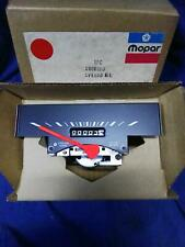 NOS Mopar Speedometer 1969-71 Dodge Truck D & W Export Models Kilometer Type