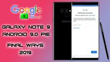 Samsung Galaxy Note 9 Google Lock-FRP Mail In Service