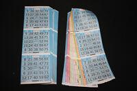 BINGO PAPER Cards Kit  6 on 6 up starburst Olive rotation 10 packs FREE SHIPPING