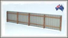 AF9 HO Scale Australian 8' Grey Galvanised Iron Fencing 1.12 metres