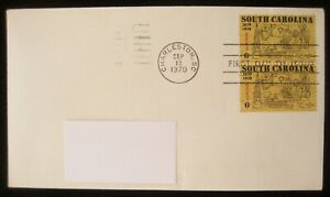 United States Stamps 1970 SOUTH CAROLINA 1670-1970 First Day of Issue Stamp 6c