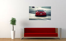 "TOYOTA SUPRA TWIN TURBO PRINT WALL POSTER PICTURE 33.1""x20.7"""