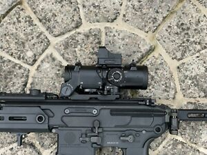ELCAN Spector DR Style 1-4X Illuminated Scope Red Dot Sight w/ Micro Red Dot RMR