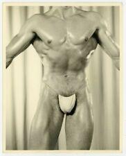 Keith Lewin 1950 Gay Bodybuilder Don Whitman Photo Nude Male Buff Beefkcake 7079