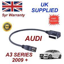 Cables de interfaz y entrada auxiliar para coches Audi