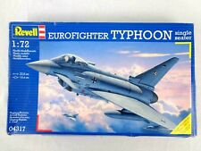 Vintage Revell 1/72 Eurofighter Typhoon Model Kit Military Aircraft Sealed Bags