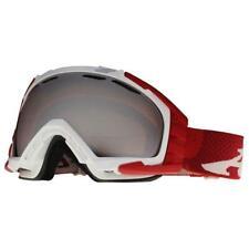 349dc6662b02 Arnette Mercenary AN 5002-18 White Red Zine Shadow Chrome Snow Ski Goggles .