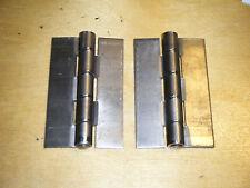 """3-1/2"""" Steel Hinges One Pair Solid Weld On 2 hinges welder welding"""
